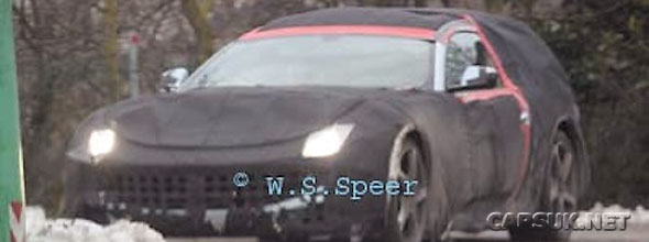 Ferrari 612 Shooting Brake Spy shot