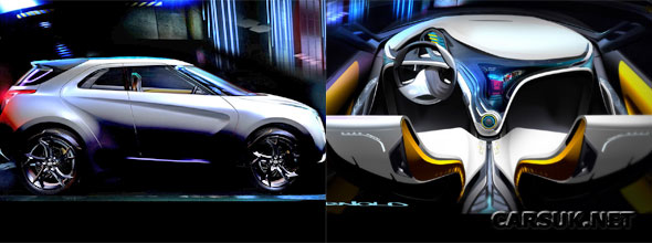 Hyundai Curb Concept - on show at Detroit