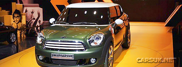 The MINI Paceman Detroit