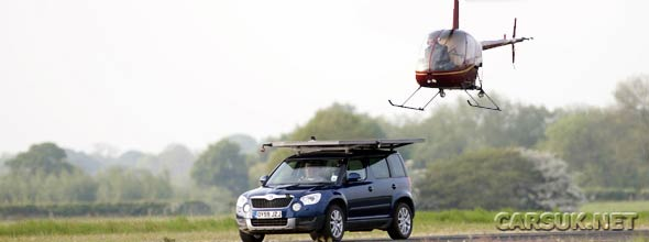 Top Gear Skoda Yeti Helipad