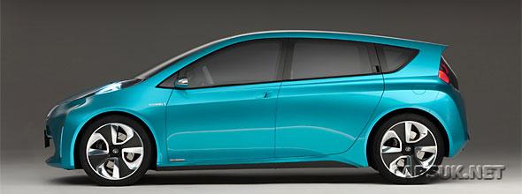 The Toyota Prius C Concept