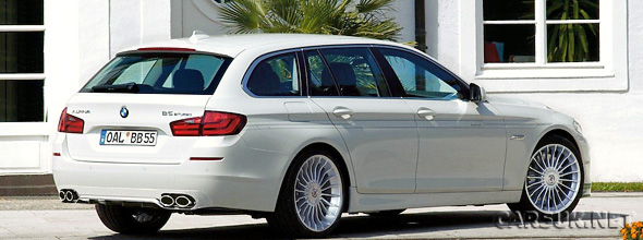 The Alpina B5 BiTurbo Touring
