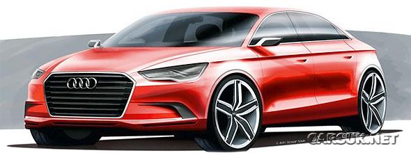 The Audi A3 Saloon Concept