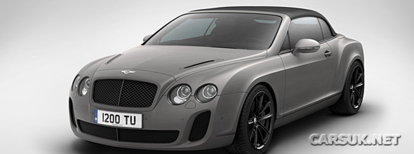 Bentley Supersports 'Ice Speed Record' Convertible