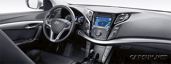 The Hyundai i40 interior
