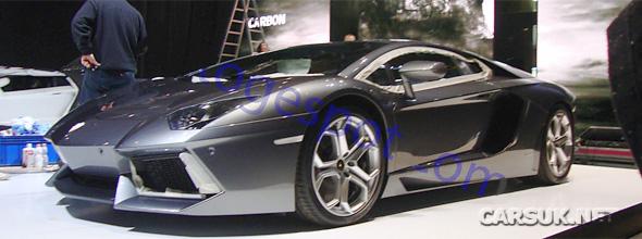 The Lamborghini Aventador LP700-4 arrives in Geneva