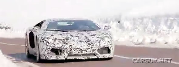 Lamborghini Aventador LP700-4 Video