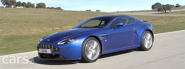 Aston Martin V8 Vantage S Video
