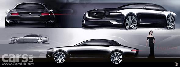 Bertone Jaguar B99 Design