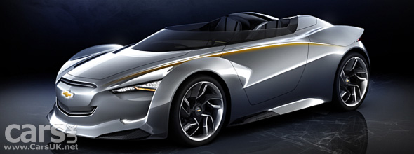 Chevrolet reveals the Mi-ray Concept at the Seoul Motor Show