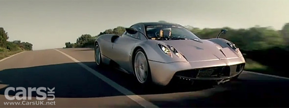 Pagani Huayra Video