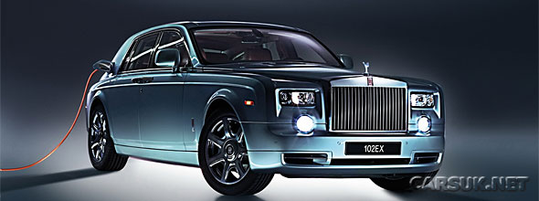 Electric Rolls Royce Phantom