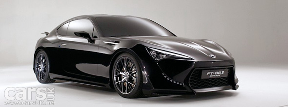 Toyota has a photo session with the FT-86