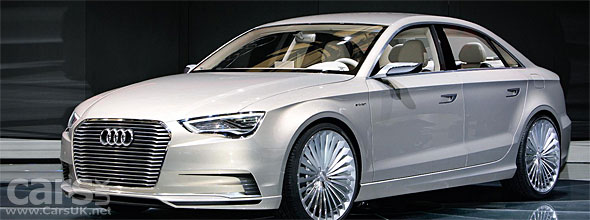Audi reveals the A3 e-Tron Hybrid at the Shanghai Motor Show