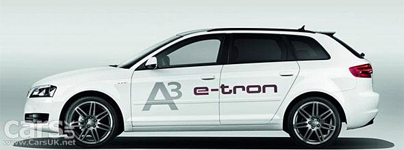 Audi A3 e-tron - a pure electric Audi e-tron - revealed