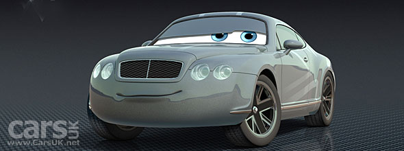 Prince Wheeliam is in the Disney Pixar Cars 2