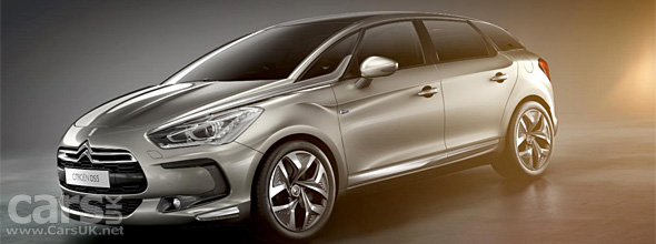 Citroen DS5 - with Hybrid4 diesel electric hybrid - is revealed