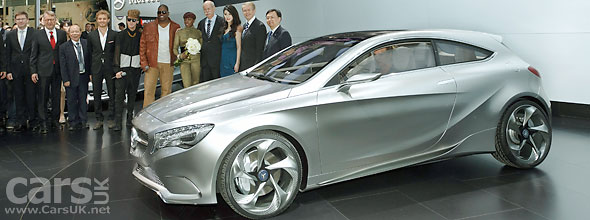 Mercedes Concept-A revealed at Shanghai Motor SHow