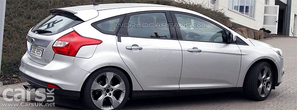 2012 Ford Focus ST caught testing