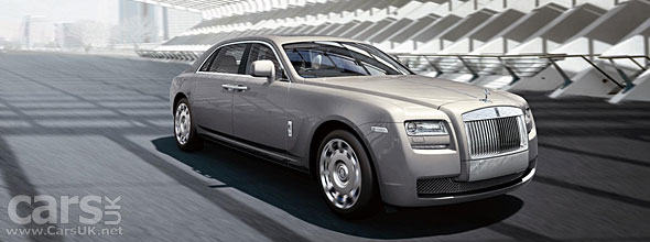 Rolls Royce Ghost EWB launched at Shanghai