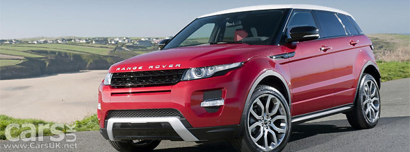 Range Rover Evoque UK Price under £30k