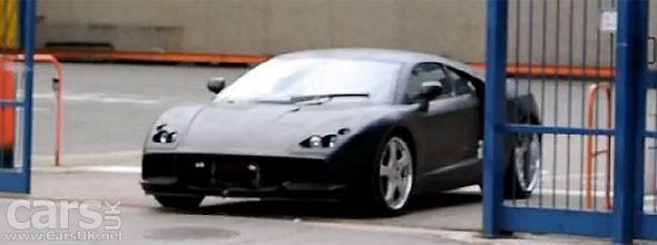 New De Tomaso Pantera Spy Video