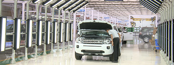 The Land Rover Freelander 2 is now being assembled in India