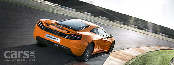McLaren MP4-12C - fastest car round the Top Gear track