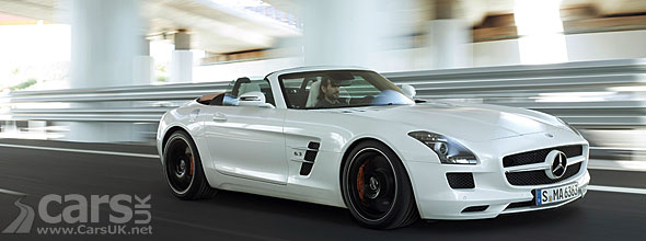 Mercedes SLS AMG Roadster officially revealed