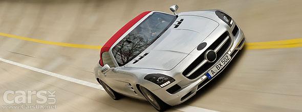 Mercedes SLS AMG Roadster official photos and Frankfurt 2011 Debut
