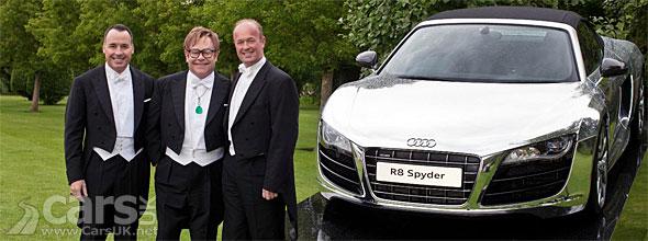 Chrome Audi R8 Spyder EJAF