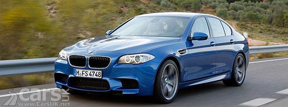 2012 BMW M5 Official with 125 photos and a price of £73k