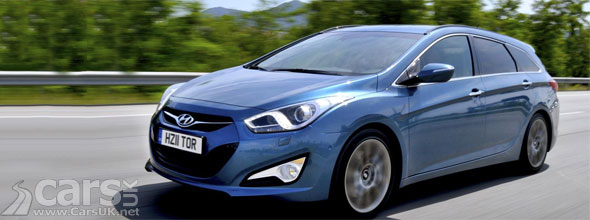Hyundai i40 Tourer Price & Model Information UK