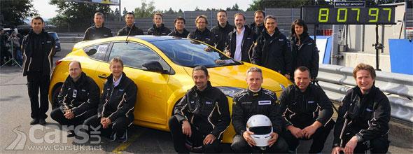 Megane Renaultsport 265 Trophy takes Nurburgring Record