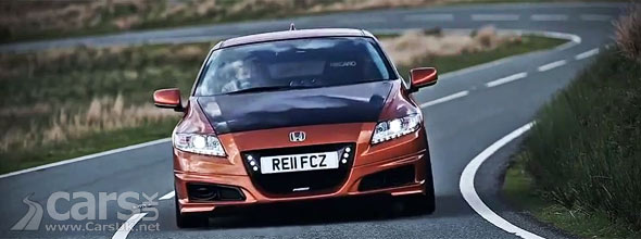 Mugen Honda CR-Z Hybrid Video ahead of Goodwood Festival of Speed