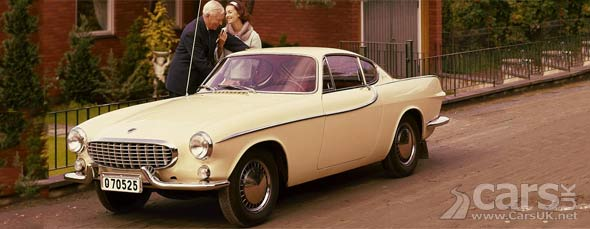 Roger Moore's Saint car - the Volvo P1800 - hits 50