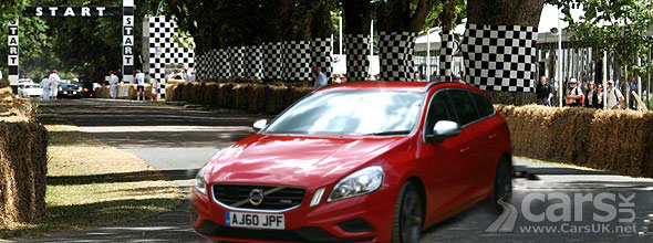 Win tickets to drive the Goodwood hillclimb in a Volvo