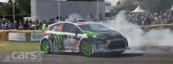 Ken Block Goodwood 2011