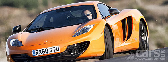 McLaren MP4-12C gets tweaked
