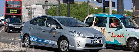 Toyota Prius Plug-in London