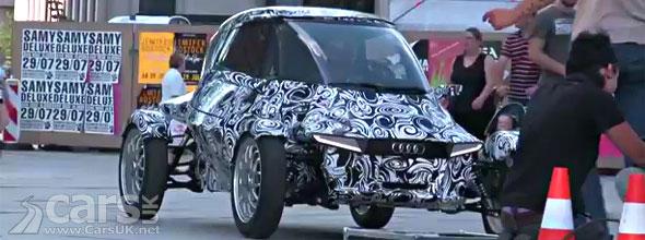 Audi E1 e-Tron Spy