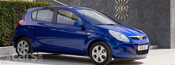 New Hyundai I20 Blue Just 98g Km Co2