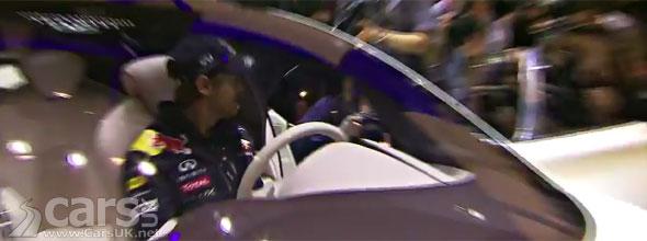 Infiniti FX50 Vettel