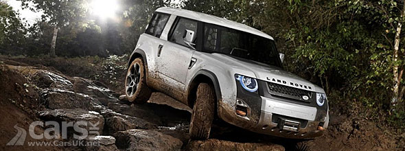 New Land Rover Defender DC100 Concept