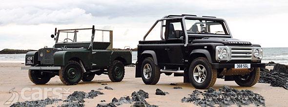 Land Rover Defender Concept Frankfurt