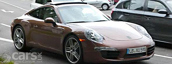 2012 Porsche 911 undisguised
