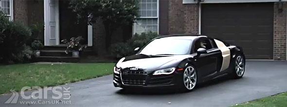 Audi R8 V10 Twitter