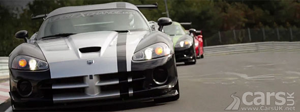 Dodge Viper Nurburgring Record Video