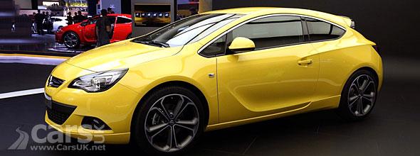 Vauxhall Astra GTC Frankfurt
