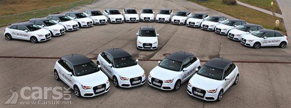 Audi A1 e-tron Trial